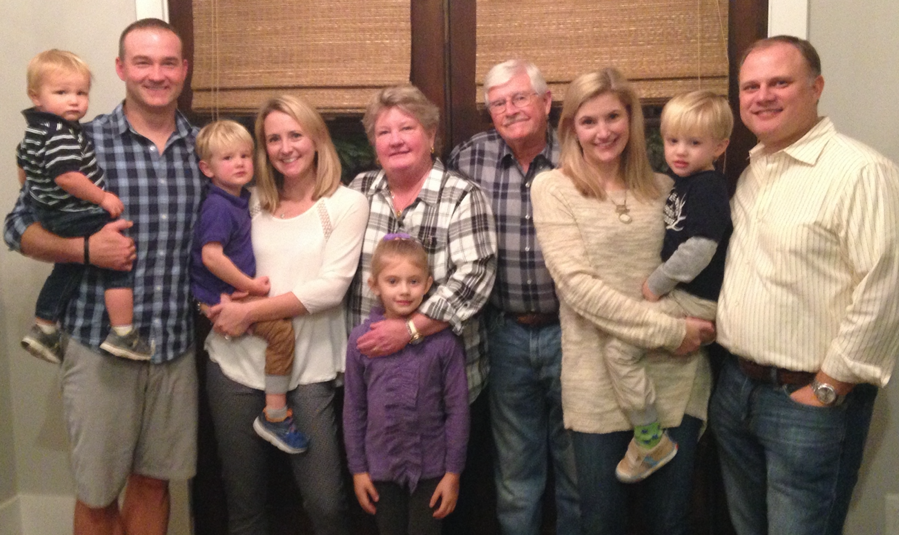 Terri Enfield and Family